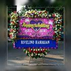 bunga papan happy wedding jakarta selatan murah